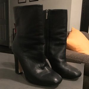 Aldo Jessica Amy All Black Ankle Boots